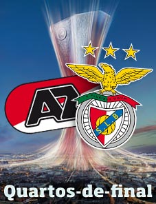 AZ Alkmaar – Benfica nos quartos-de-final da Liga Europa