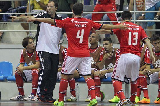 """Futsal: João Freitas Pinto: """"Agora é lutar para vencer o dérbi"""""""