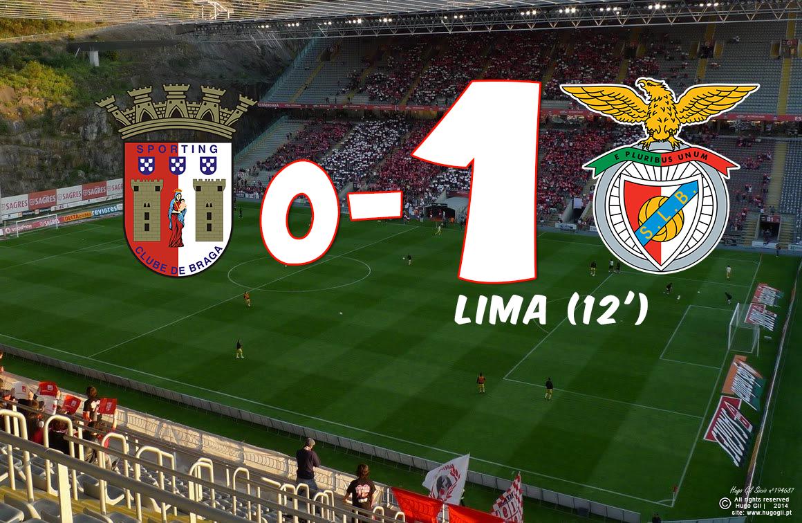SC Braga 0-1 SL Benfica- Golos