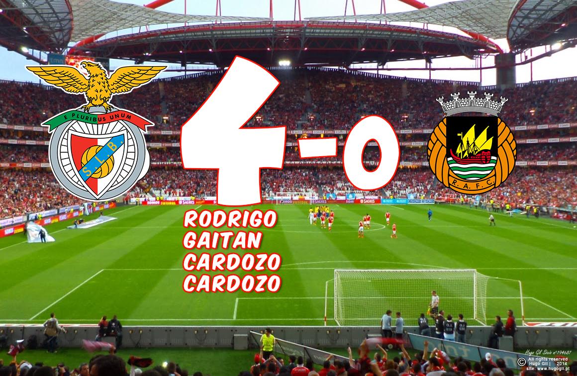 26ª jornada, SL Benfica 4-0 Rio Ave