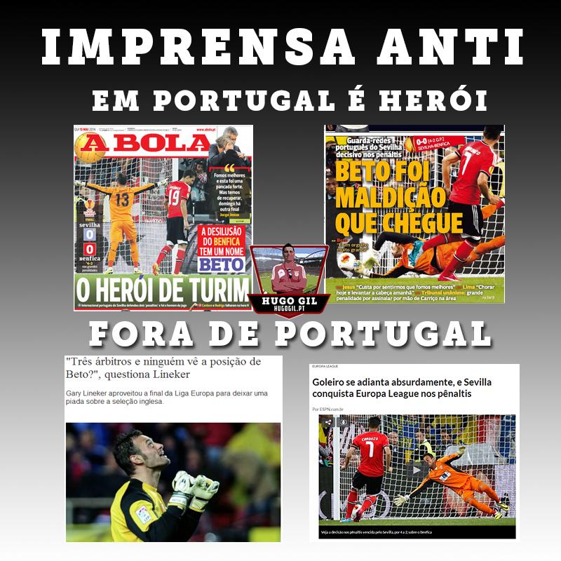 A imprensa anti Benfica