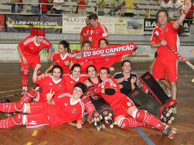Hóquei feminino: Benfica apura-se para Final da Taça de Portugal