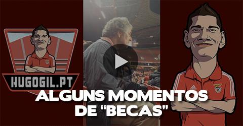 """Foi assim a Noite do """"Becas"""" (video)"""