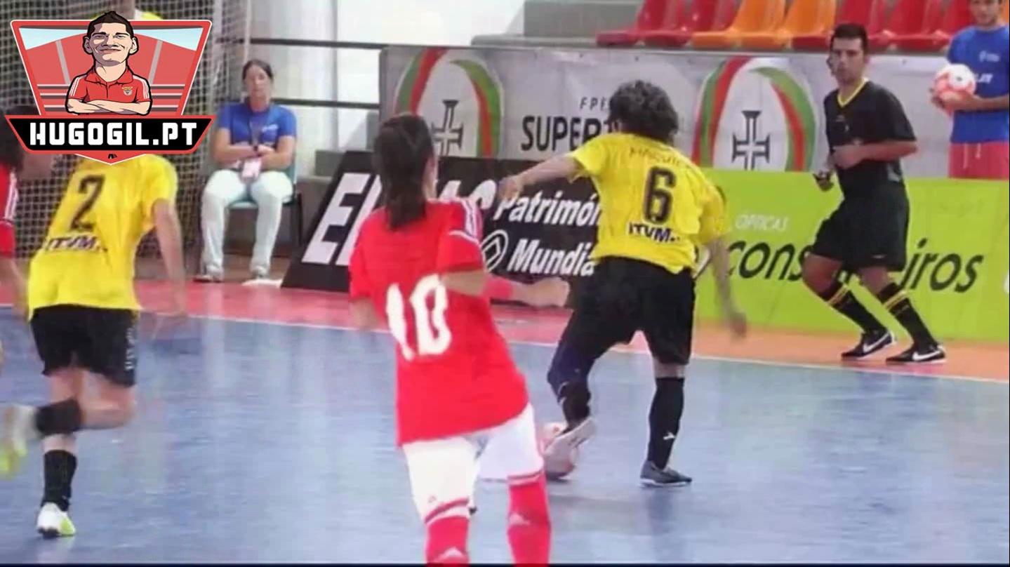 Futsal Feminino: Golos e festa