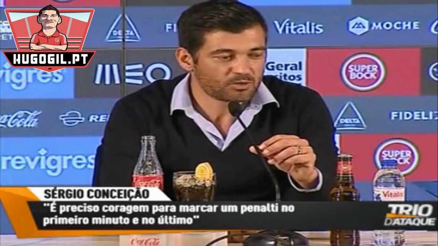 Sergio Conceição: No porto não se marca penaltys aos 90 min