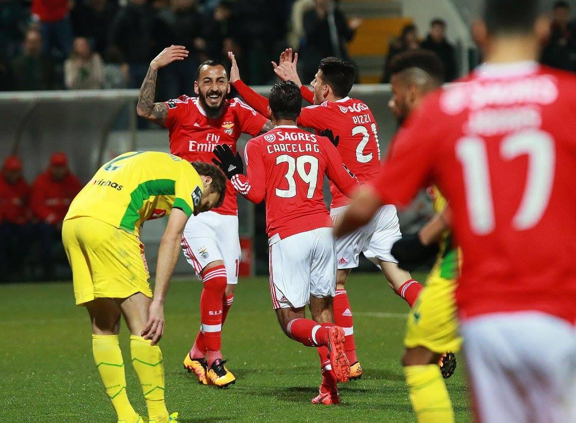 Resumo Paços de Ferreira 1-3 SL Benfica