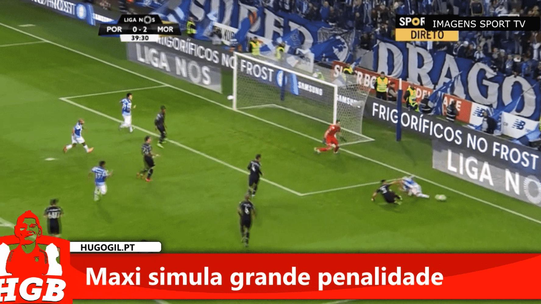 821171d88e Simulação de Maxi vale 3 pontos ao FC Porto – Hugo Gil
