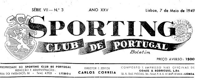 Jornal Sporting n.º 3