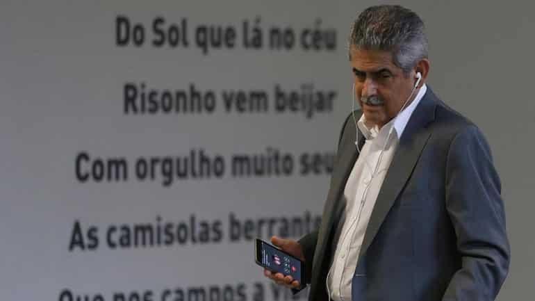 Presidente do Benfica dá entrevista hoje à BTV