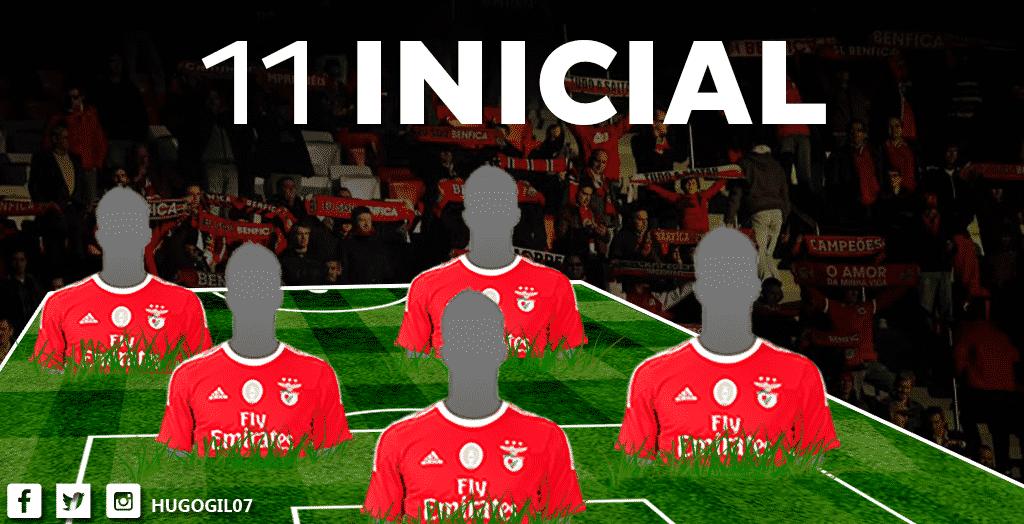 11 inicial para o jogo com o Tondela