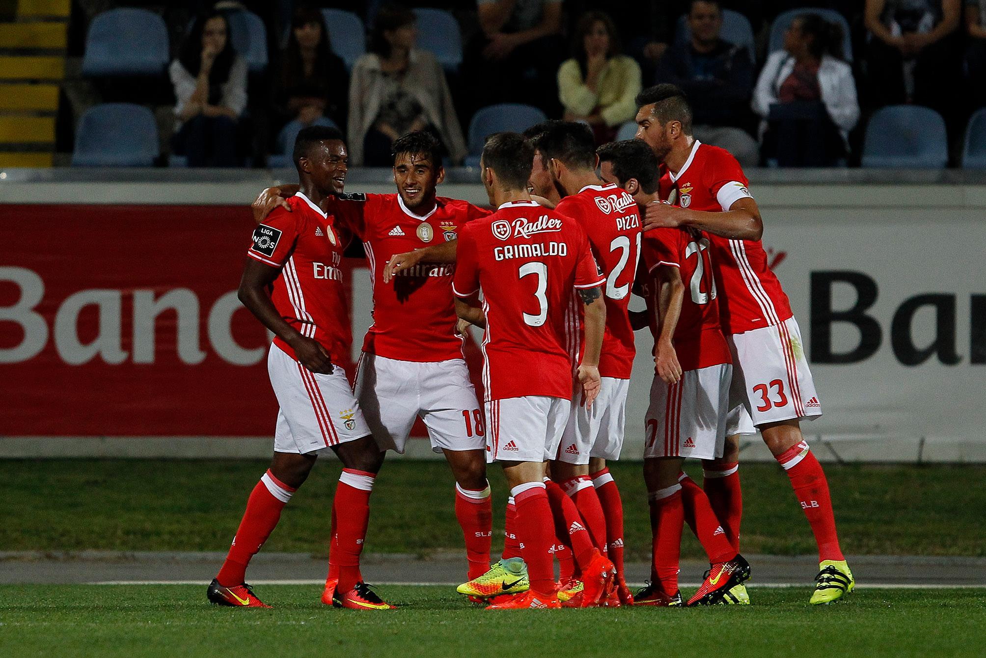 Resumo do Arouca 1-2 SL Benfica