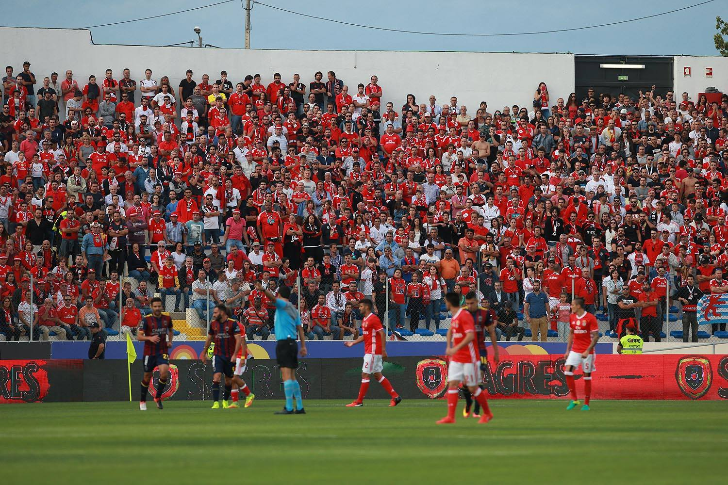 Os golos: GD Chaves 0-2 SL Benfica