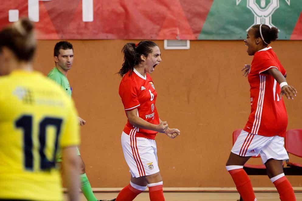 b083d5540a Resumo  Benfica vence a supertaça em Futsal Feminino