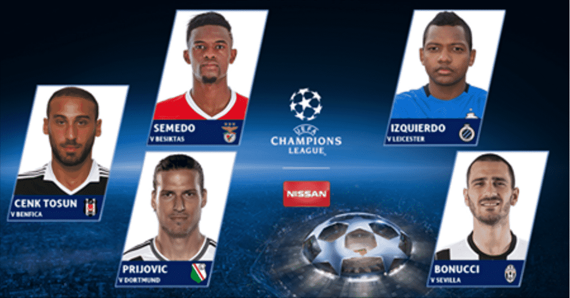 Golo de Nelson Semedo nos golos da semana da Champions League