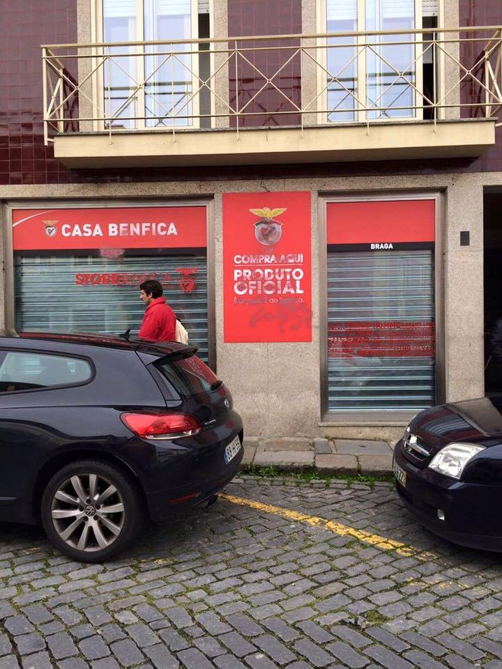 Casa do benfica braga
