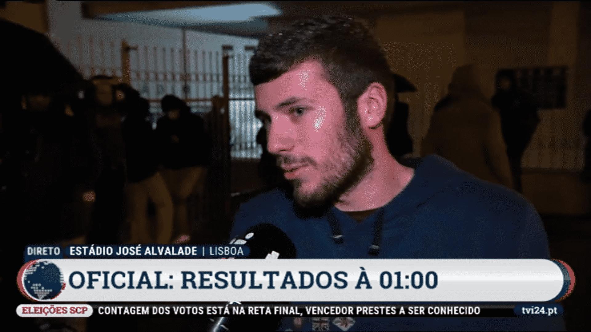 Adepto do Sporting diz que foi campeão o ano passado, nas eleições do Sporting