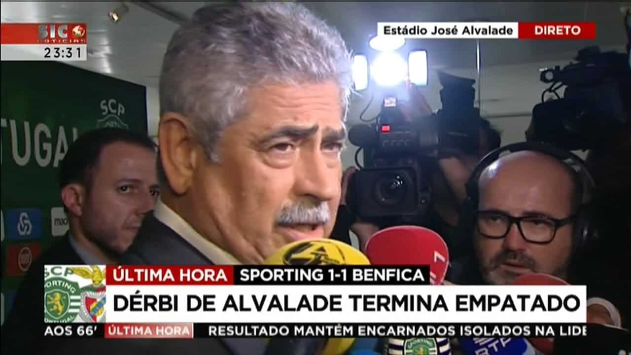 """Luís Filipe Vieira: """"HÁ QUE REPENSAR O QUE SE ANDA A FAZER NO FUTEBOL"""""""