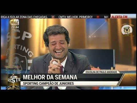 André Ventura não aguenta e ri-se de Paulo Andrade