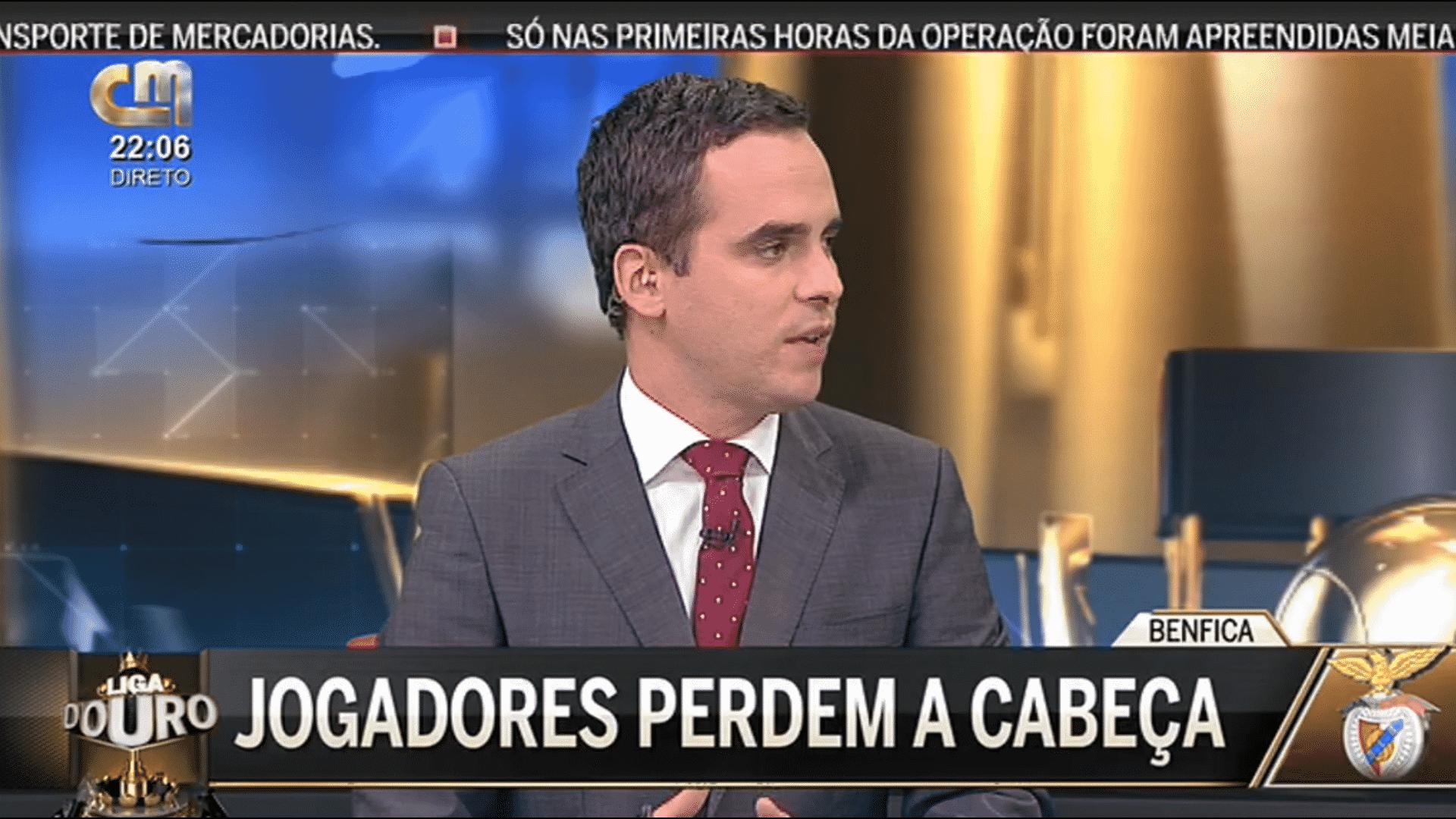 Video ▶ CMTV passa video de propaganda contra o Benfica.