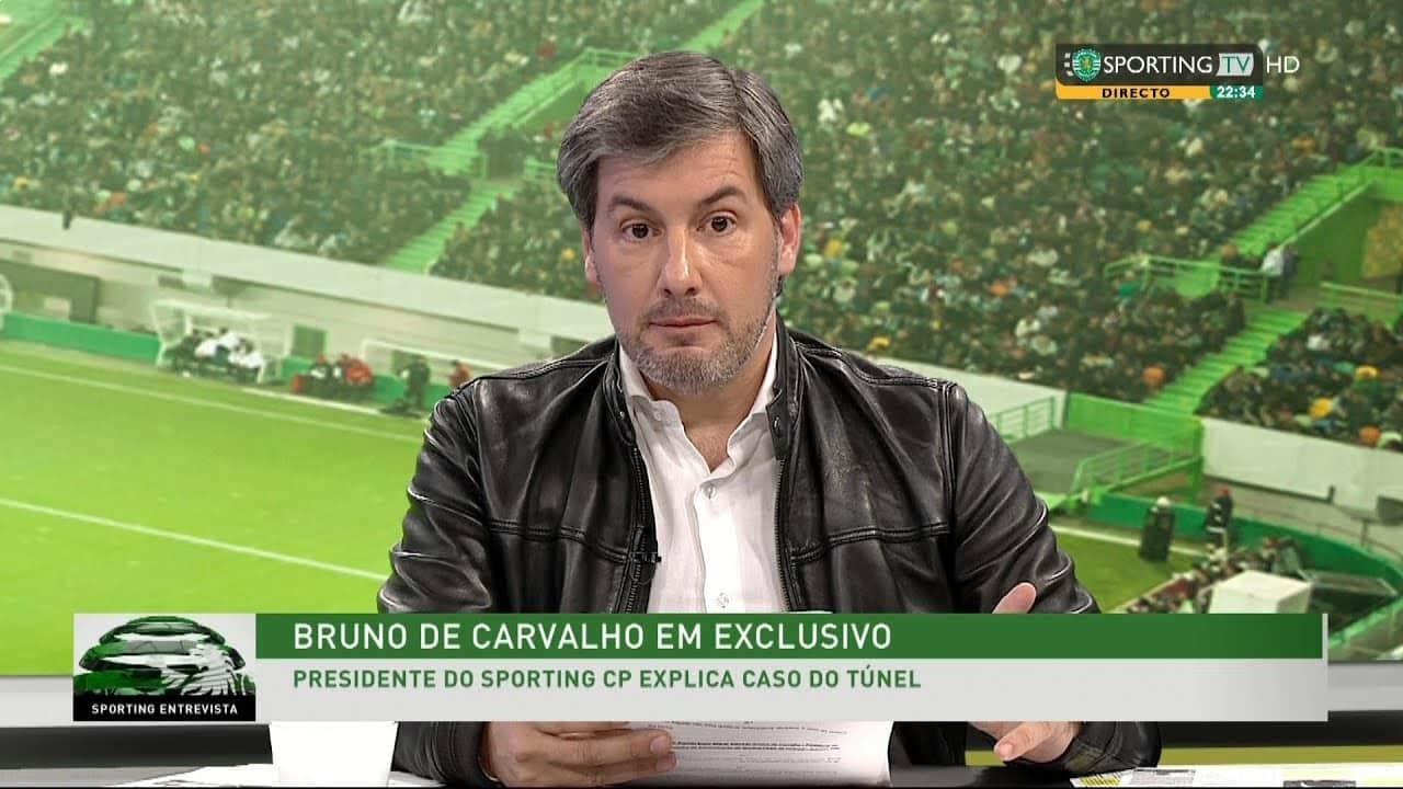 Bruno de Carvalho insulta Vieira e continua a falar do