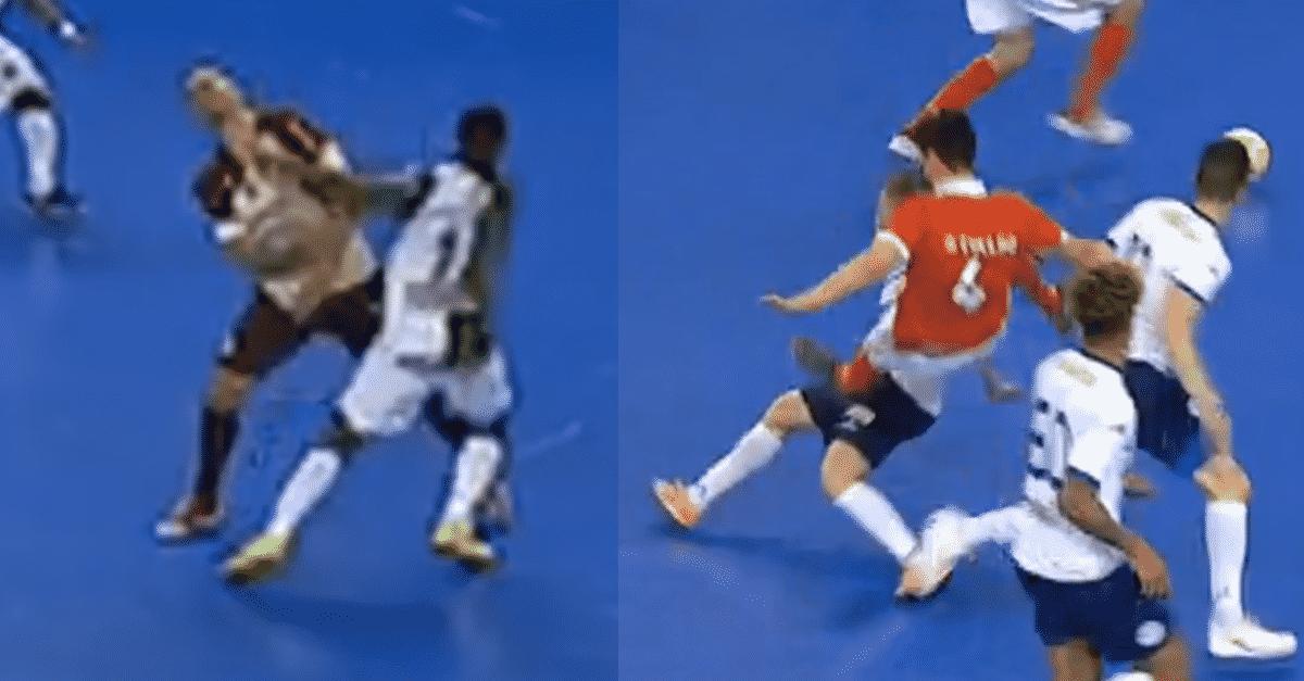 c3905dbfcf André Coelho apanha 2 jogos por sofrer falta enquanto Pany Varela(Sporting)  agride e pode jogar contra o Benfica