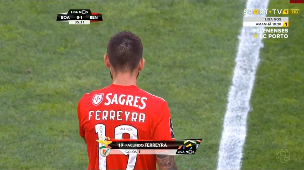 4fbf99422b Veja ou reveja o golo do nota 1 dos jornais desportivos Facundo Ferreyra