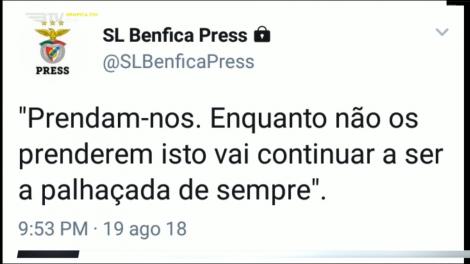 Benfica reage ao vergonhoso penalti que deu os 3 pontos ao FC Porto c975c6ecd26df