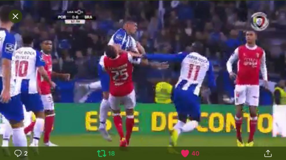 66458d29ce VÍDEO  Aquela cotovelada que valeu 3 pontos ao FC Porto