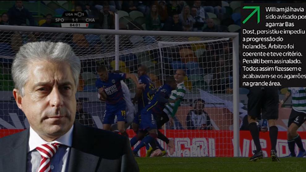 e8032c84f8 Como o Coroado analisa os lances contra o Benfica e como analisa a favor